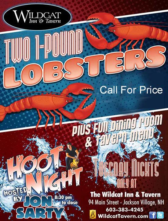 Lobster dinner special