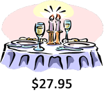 Dinner For 2 $27.95