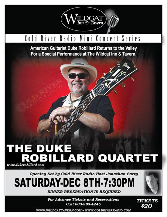 The Duke Robillard Quartet