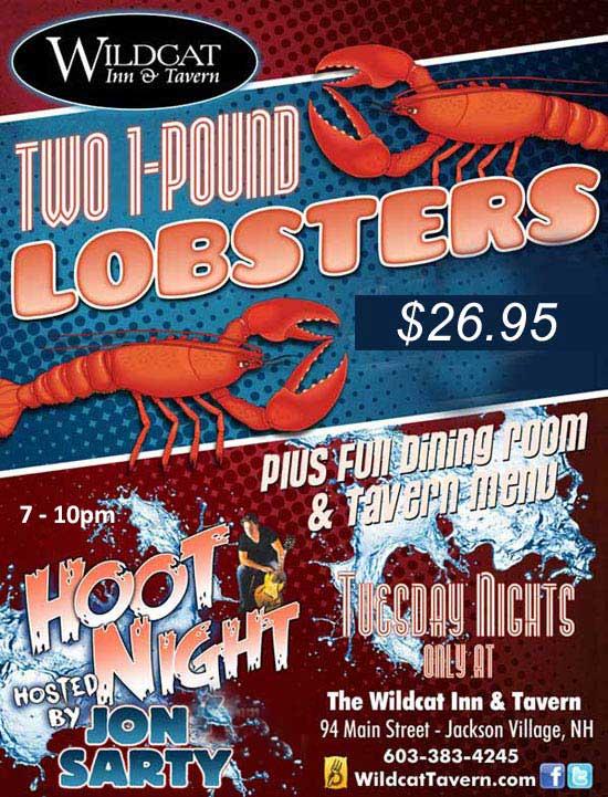 Lobster Dinner $29.95