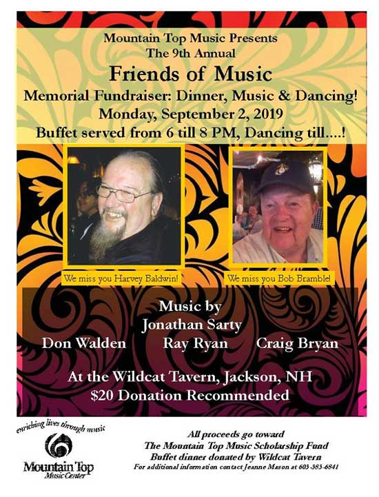 9th Annual Friends of Music Scholarship Fund Benefit