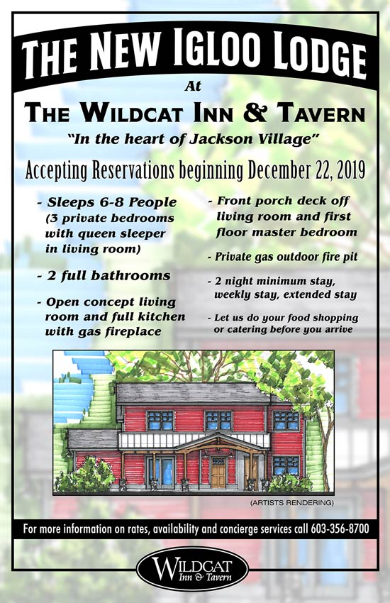 The Igloo Lodge at the Wildcat Tavern