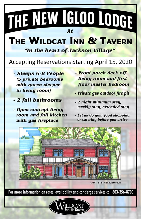 The Igloo Lodge at the Wildcat Tavern