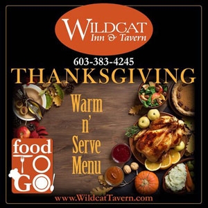 Thanksgiving Warm & Serve Takeout Menu